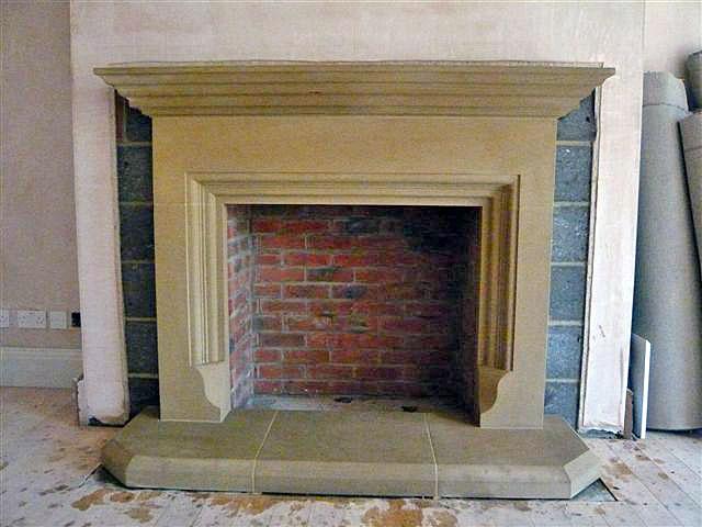 Bespoke Fireplaces David France Stonemasonry Ltd. Reconstituted sandstone  ...
