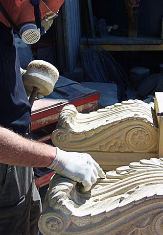Carving David France Stonemasonry Ltd